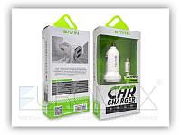 Автомобільний зарядний пристрій BAVIN PC533B-V8 2,4 А, 2USB, кабель USB-microUSB, АЗУ, автозарядное BAVIN