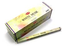 Благовония White musk HEM 8шт/уп. Аромапалочки Белый муск (27597)