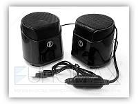 Музыкальные колонки для компьютера EVO688 пластик, активная акустическая система, акустическая система,