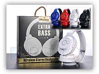 Бездротові накладні навушники SD AZ-13-BT microSD TF, FM, AUX 3.5 mm, Bluetooth-навушники, накладні навушники