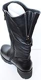 Сапоги на полную ногу женские зимние большого размера от производителя модель БР2120, фото 4