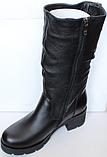 Сапоги на полную ногу женские зимние большого размера от производителя модель БР2120, фото 2