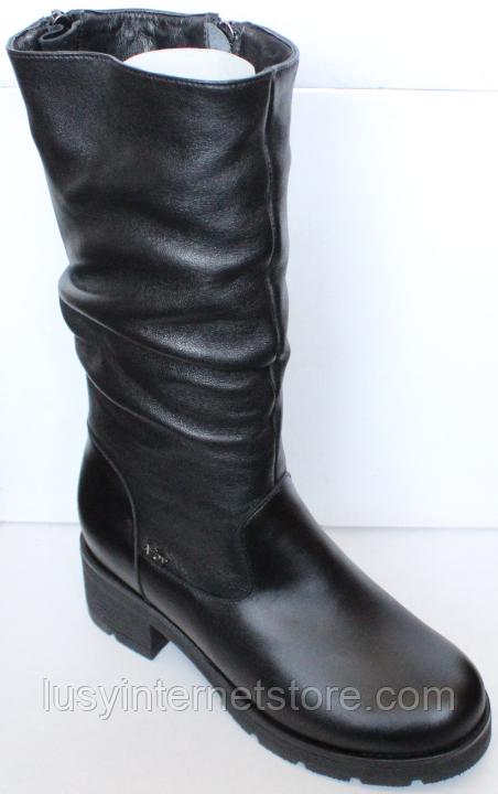 Сапоги на полную ногу женские зимние большого размера от производителя модель БР2120