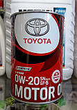 Моторное масло TOYOTA MOTOR OIL SN/GF-5 0W20 1л., фото 2