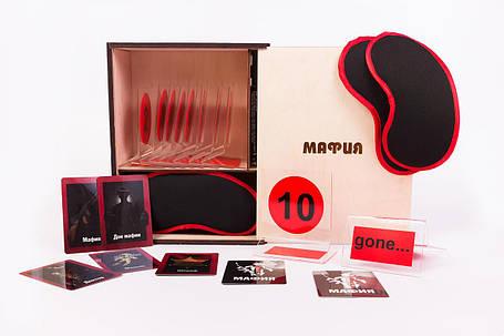 Настольная игра Мафия. VIP профессиональный набор (FunGameShop), фото 2