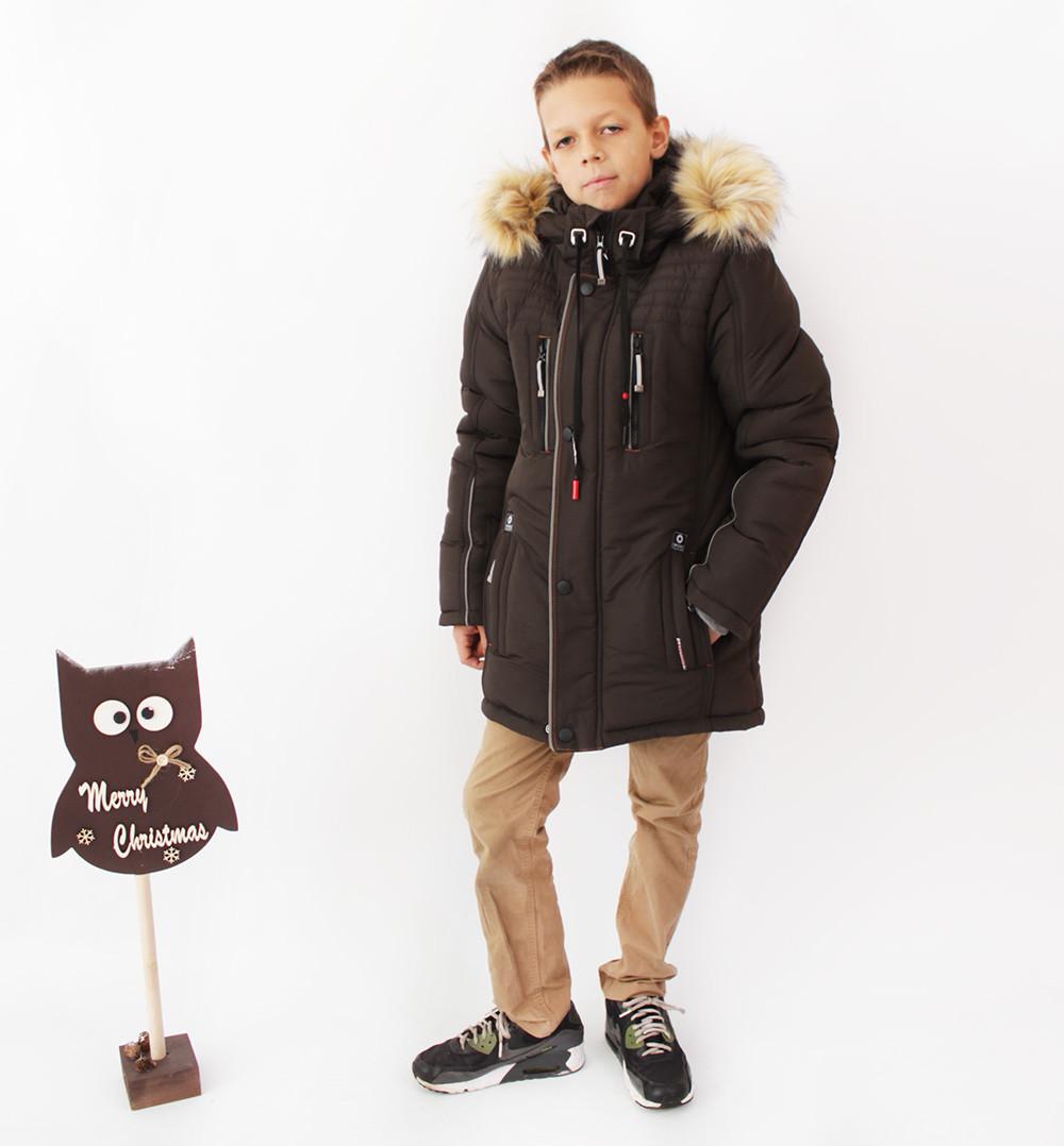 Куртки дитячі на зиму для хлопчика СПОРТ