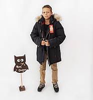 Куртки дитячі на зиму для хлопчика WOK