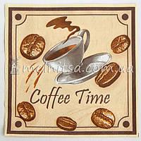 Салфетка для декупажа, Coffe Time