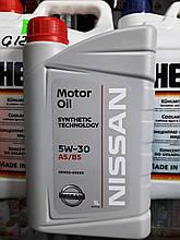 Моторне масло NISSAN SL/CF 5W-30, 1лит.