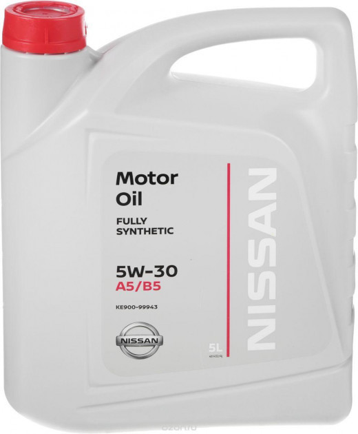 Моторное масло NISSAN 5W-30, 5лит.