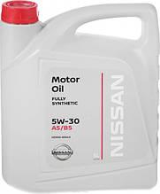 Моторне масло NISSAN 5W-30, 5лит.