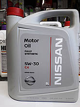 Моторне масло NISSAN C4 (DPF) 5W-30, 5лит.