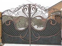 Кованые ворота и заборы под заказ