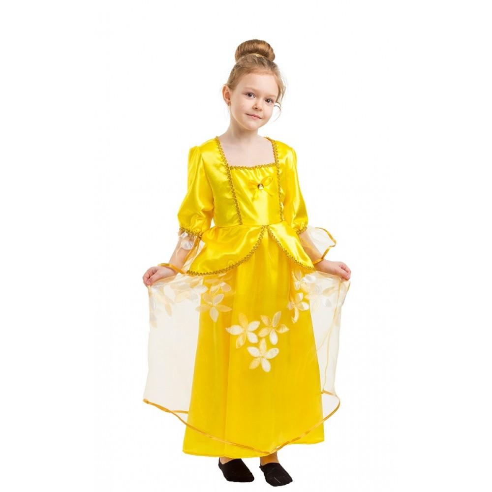 Маскарадный костюм Белль, Красавицы для девочки.