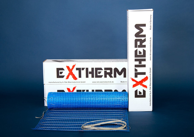 Тепла підлога під ламінат EXTHERM надтонкі нагрівальні мати ETL
