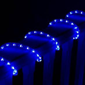 Уличная Гирлянда Шланг Дюралайт 10 м, синий от сети 220V, фото 2