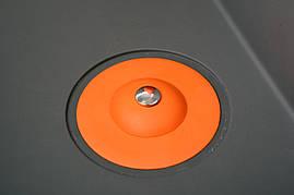 Пробка в раковину силиконовая с сетчатым фильтром оранжевая Fala 74783, фото 2