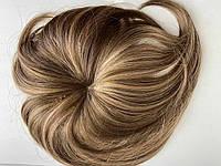 Парик - накладка из искусственных волос Global не объемная русый мелированный