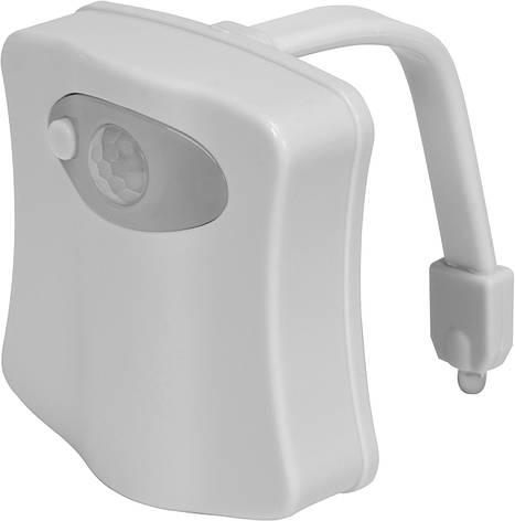 Подсветка для унитаза с датчиком движения и подсветкой Fala 75455, фото 2