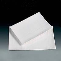 Тарелка прямоугольная фарфоровая 10 HLS Extra white 175х255 мм. (W0131)