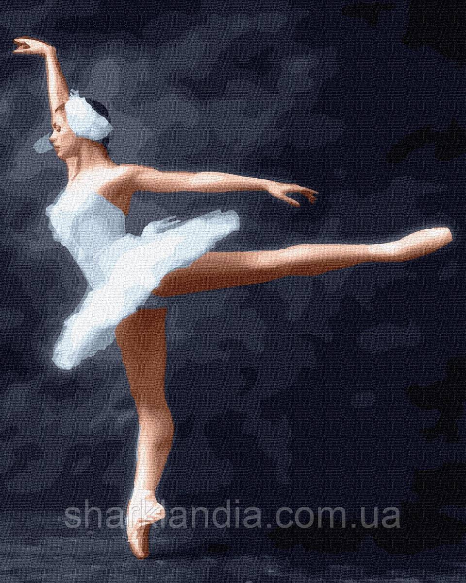 Картина по Номерам Цветочная балерина 40х50см RainbowArt