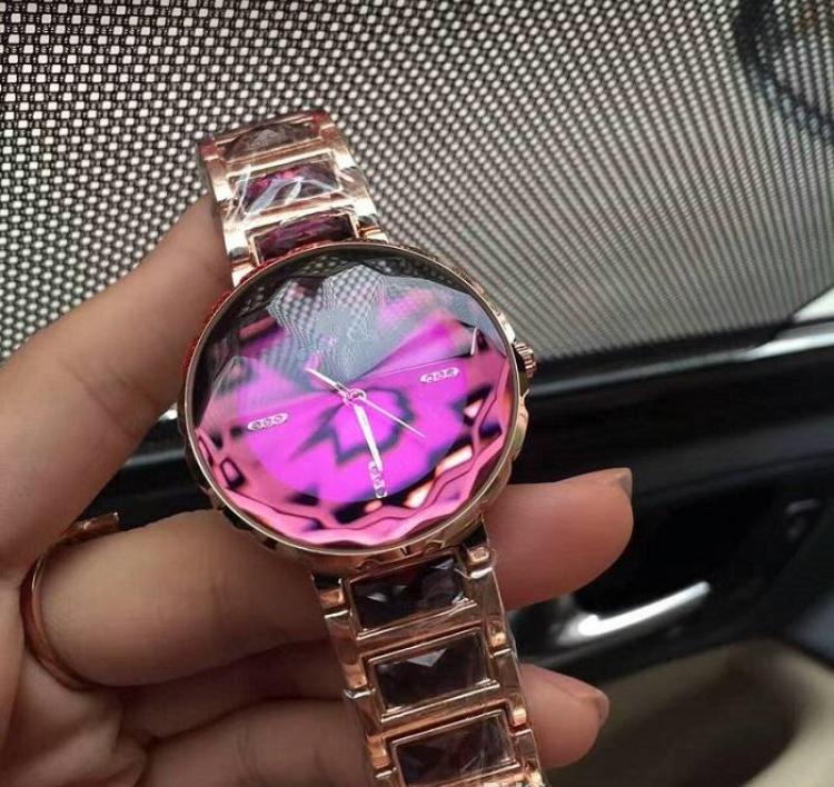 Часы женские Swa rovski Pink Shine