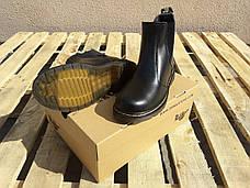 Женские кожаные ботинки/челси в стиле Dr. Martens Chelsea Black, фото 2
