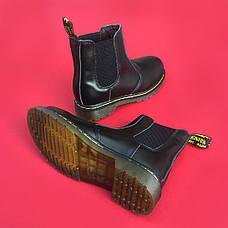Женские кожаные ботинки/челси в стиле Dr. Martens Chelsea Black, фото 3