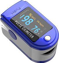 Пульсометр на палец Oximetr, Пульсоксиметр Оксиметр, прибор для измерения кислорода в крови