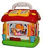 Логическая игрушка-домик для малышей