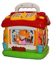 Логическая игрушка-домик для малышей, фото 1
