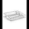Сушка для тарілок одноярусна Dunya 07106 Прозорий