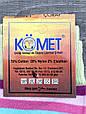 Жіночі гольфи демісезонні Komet в полоску розмір 36-40 мікс кольорів, фото 2