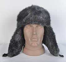 Чоловіча шапка- вушанка з штучного хутра норки de0d3215d8bb4