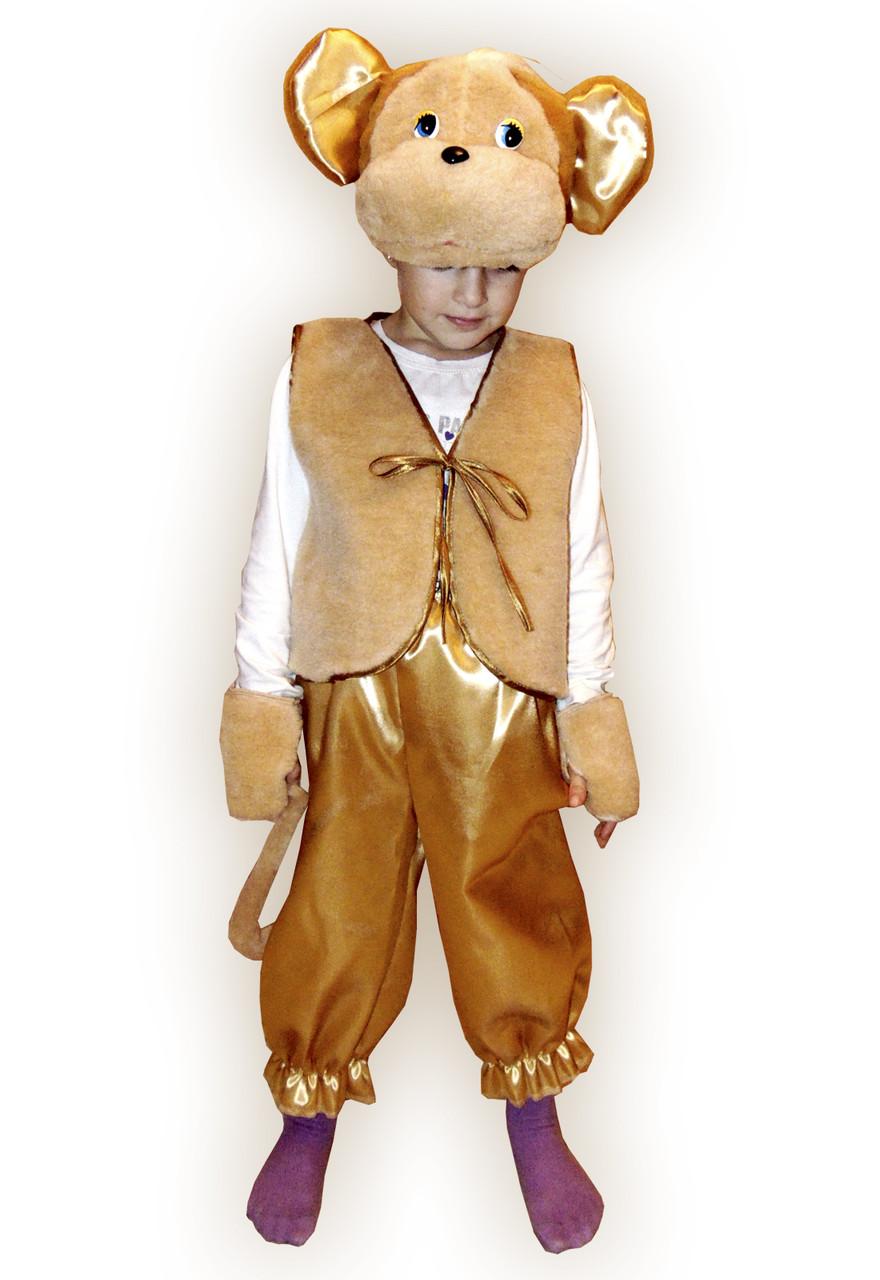 Детский карнавальный костюм обезьянки на мальчика