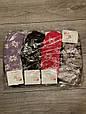 Жіночі носки шкарпетки теплі Kardesle середні з вовни та махрою квітковий принт 37-41 мікс, фото 3