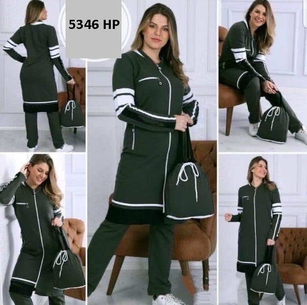 Стильный женский спортивный костюм 5346 НР