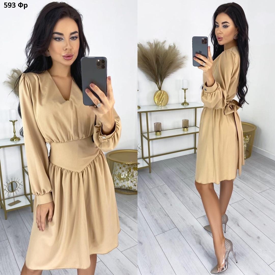 Милое женское платье 593 Фр