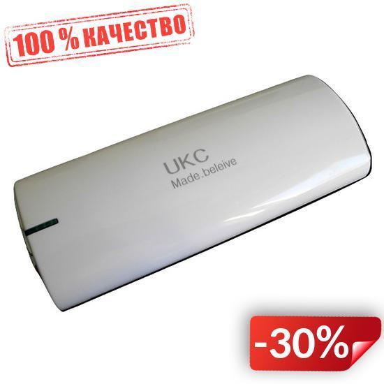 Внешний аккумулятор UKC 20000 mAh Белый (hub_VXQP73609)