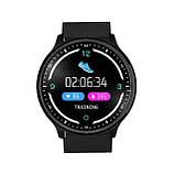 Умные часы Lemfo P69 с тонометром и защитой от воды Черный (swlemp69bl), фото 4