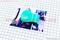 Лепесток рукоятки газа зеленый на скутер Viper Storm