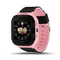 Детские умные водонепроницаемые смарт-часы с GPS LED-фонариком Q529 шагомер будильник Pink SWQ529, КОД: