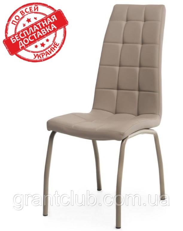 Мягкий стул N-70 капучино кожзам Vetro Mebel (бесплатная доставка)
