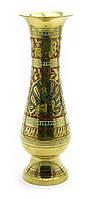 Ваза бронзовая цветная (24,5х7,5х7,5см)