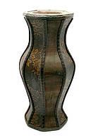 Ваза деревянная 30х12х12см (27012)
