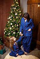 Пижама женская HITON премиум класса, рубашка+штаны, размеры XS, S, M, L, XL, XXL