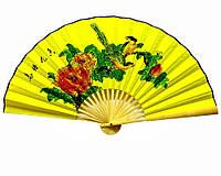 Веер бамбук+ткань 50см (20716)