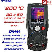 DT898 мультиметр с функцией тепловизора, от -20ºC до 260ºC