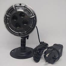 Уличный лазерный проектор Star Shower SE326-02 ЧЁРНЫЙ