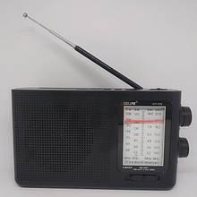 Радиоприемник ICF-F20 USB, micro SD, MP3, AUX ЧЁРНЫЙ